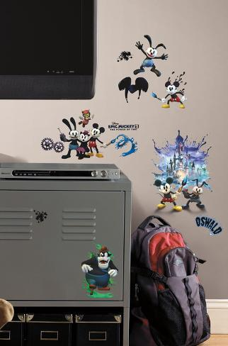 Mickey & Friends - Epic Mickey 2 Peel & Stick Wall Decals Wall Decal
