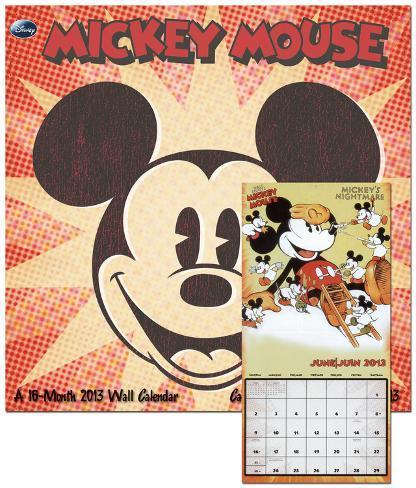 Mickey Mouse - 2013 Calendar Calendars