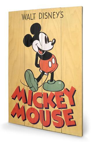 Mickey Mouse - Mickey Wood Sign Wood Sign