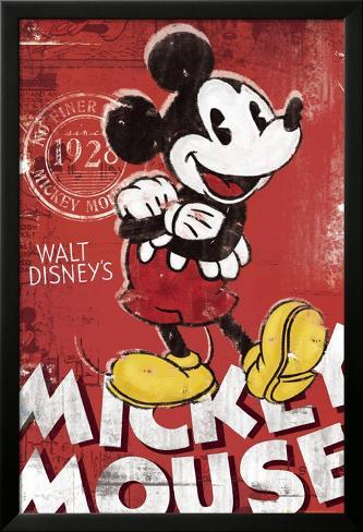 MICKEY MOUSE - Red Pósters en AllPosters.es