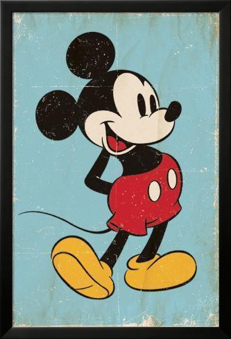 Mickey Mouse - Retro Pósters en AllPosters.es