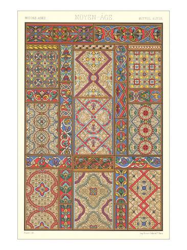 Middle Ages Decorative Arts Art Print