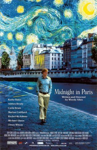 Midnight In Paris Impressão original