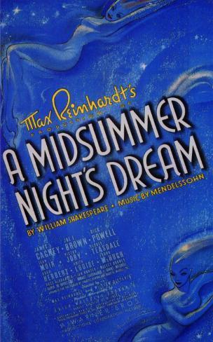 Midsummer Night's Dream Masterprint