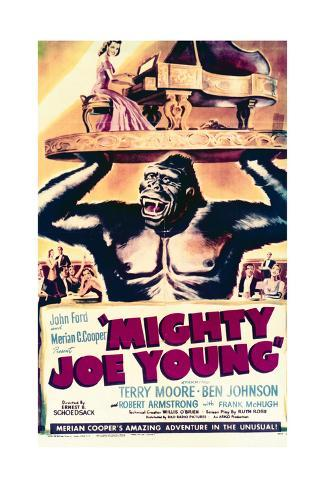 Mighty Joe Young - Movie Poster Reproduction Art Print