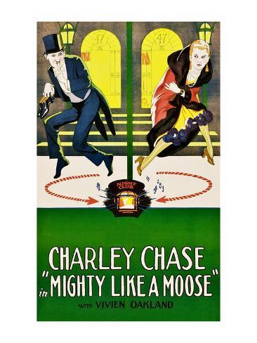 Mighty Like a Moose Art Print