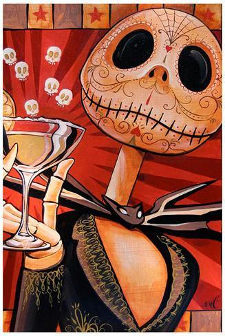 Jack Celebrates the Dead Art Print