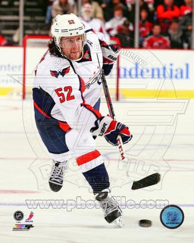 Mike Green 2012-13 Action Photo