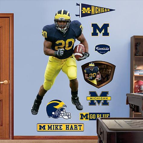 Mike Hart Michigan Wall Decal