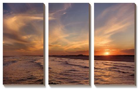 Corpus Christie Sunset Canvas Art Set