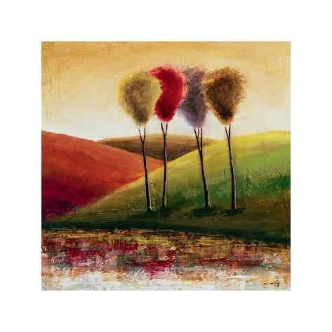 Endless Hills I Giclee Print