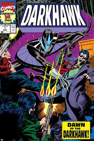 War Of Kings: Darkhawk No.1 Cover: Darkhawk Poster