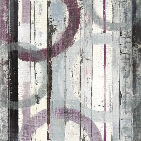 Plum Zephyr I Art Print