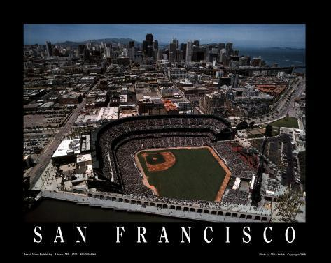 AT&T Park - San Francisco, California Art Print