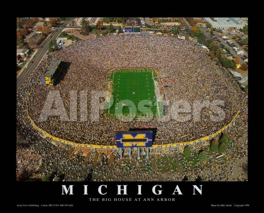 Campo de fútbol americano de Michigan: Universidad de Michigan ...