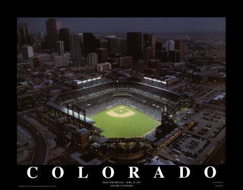 Coors Field - Denver, Colorado Art Print
