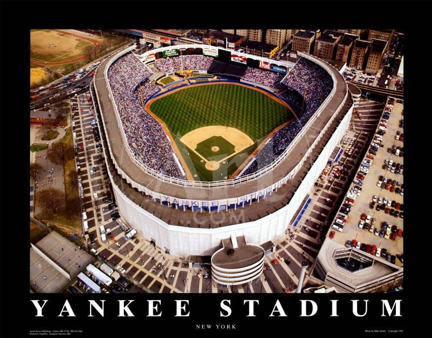 Estadio Yankee: New York, New York Pósters por Mike Smith en ...