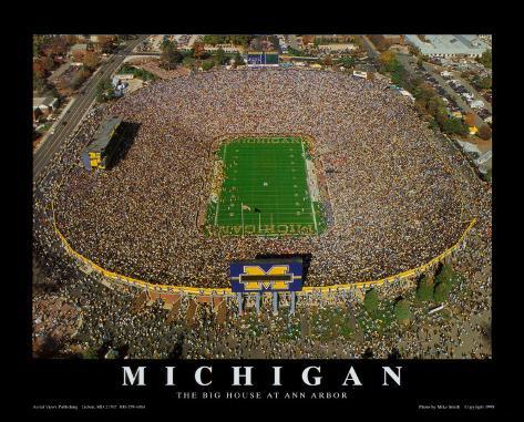 Michigan Stadium - University of Michigan Football Art Print