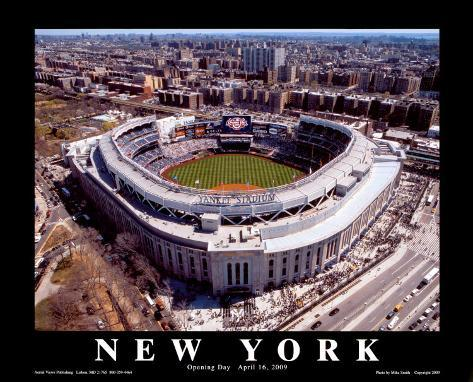 New Yankee Stadium, First Opening Day, April 16, 2009 Art Print