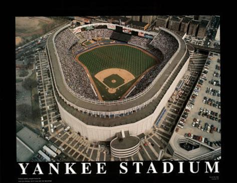 New York Yankees - Old Yankee Stadium Art Print