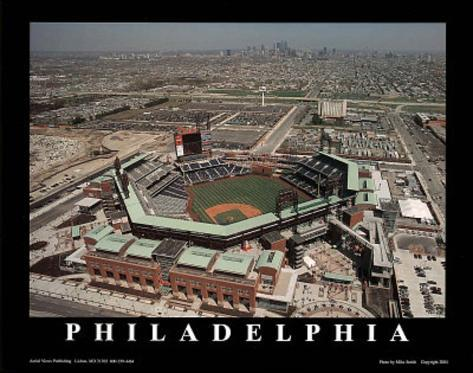 Philadelphia Phillies Citizens Bank Ballpark Sports Art Print