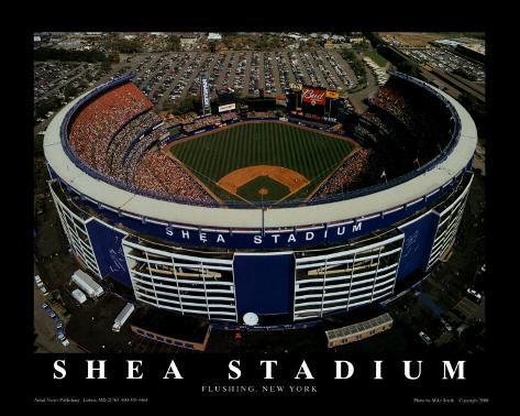Shea Stadium - New York, New York Art Print