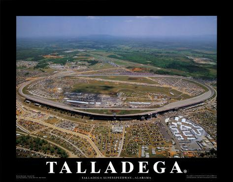 Talladega Speedway - Alabama Art Print