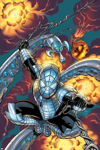 Marvel Knights Spider-Man No.21 Cover: Spider-Man Poster