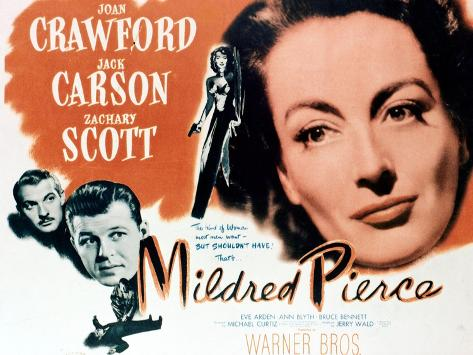 Mildred Pierce, 1945, Directed by Michael Curtiz ジクレープリント