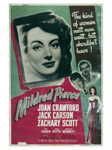 Mildred Pierce, 1945 Premium Giclee Print