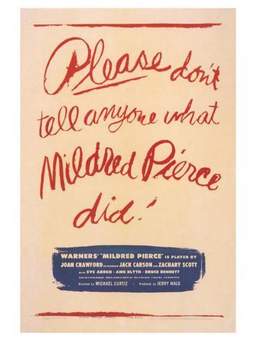 Mildred Pierce, 1945 Art Print