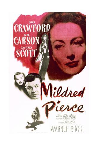 Mildred Pierce - Movie Poster Reproduction Art Print
