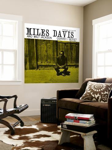 Miles Davis and Milt Jackson - Quintet / Sextet Wall Mural