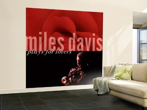 Miles Davis - Miles Davis Plays for Lovers Wall Mural – Large