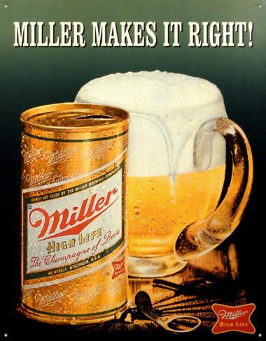 Miller Makes It Right Peltikyltti