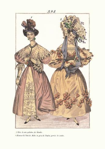 Millinery Modes Art Print