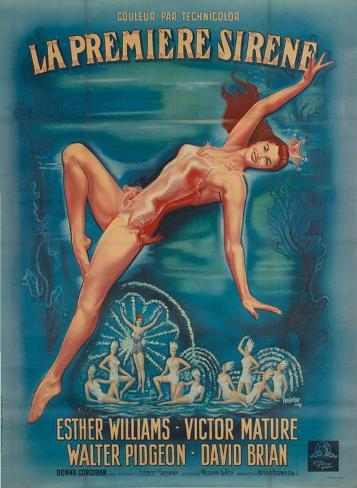 Million Dollar Mermaid Masterprint