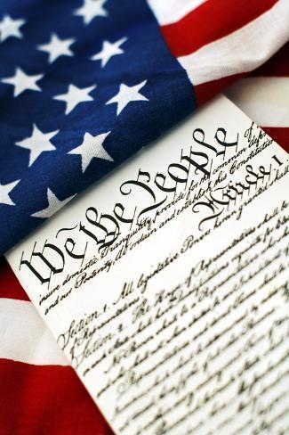 Constitution Photographic Print