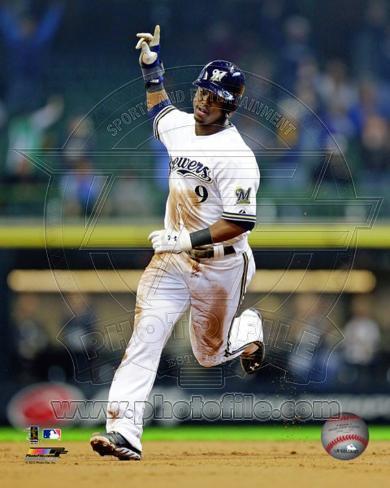 Milwaukee Brewers - Jean Segura Photo Photo
