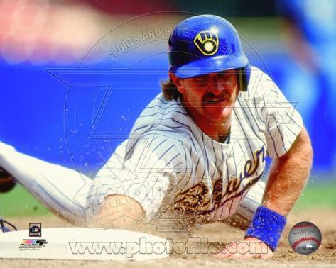 Milwaukee Brewers - Robin Yount Photo Photo