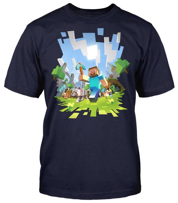 Minecraft - Aventura : camiseta para adolescentes Camisetas en ...