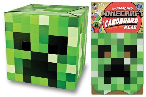 Minecraft - Creeper Head Maschera