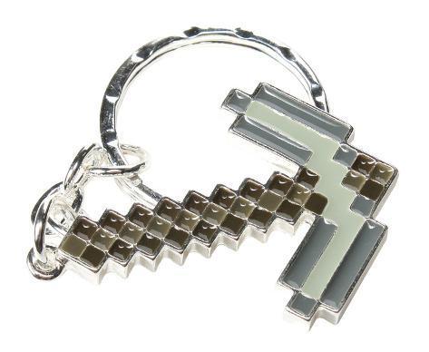 Minecraft Pickaxe Keychain Keychain