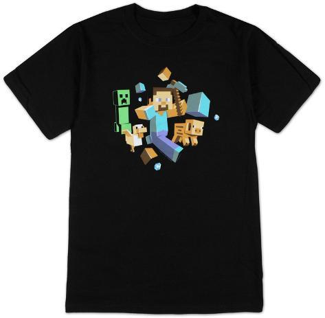 Minecraft - Run Away! T-Shirt