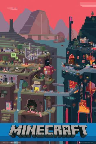 Minecraft- World Poster