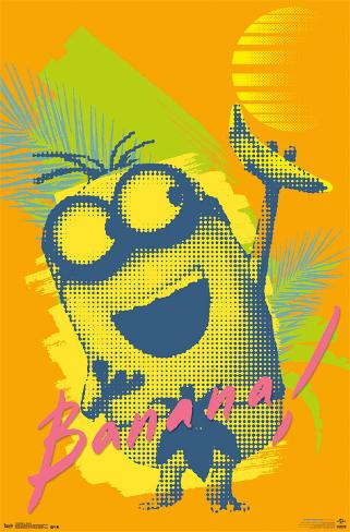 Minions - Banana ポスター