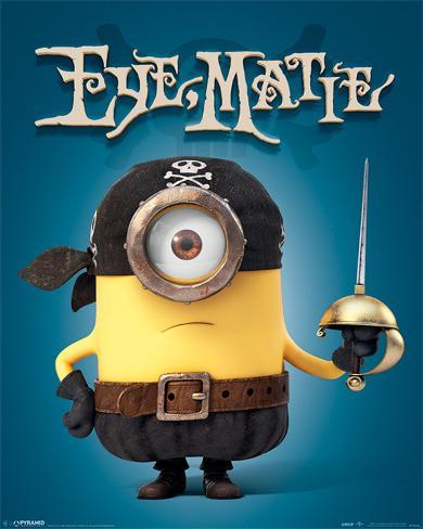 Minions - Eye Matie Mini Poster