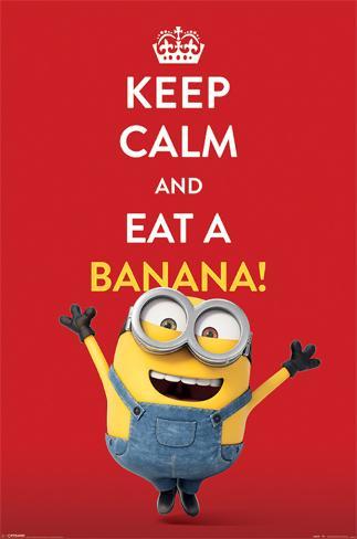 Minions (Keep Calm) Poster