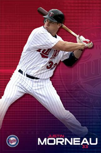 Minnesota Twins - Justin Morneau Poster