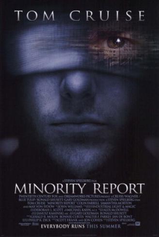 Minority Report (Tom Cruise) Movie Poster Original Poster